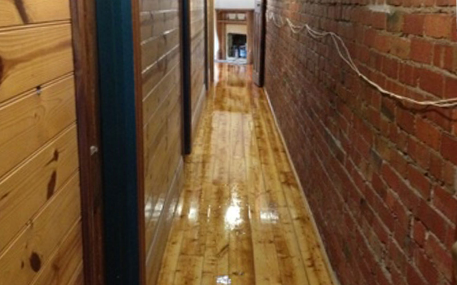 Baltic Pine Floor – Gloss Finish