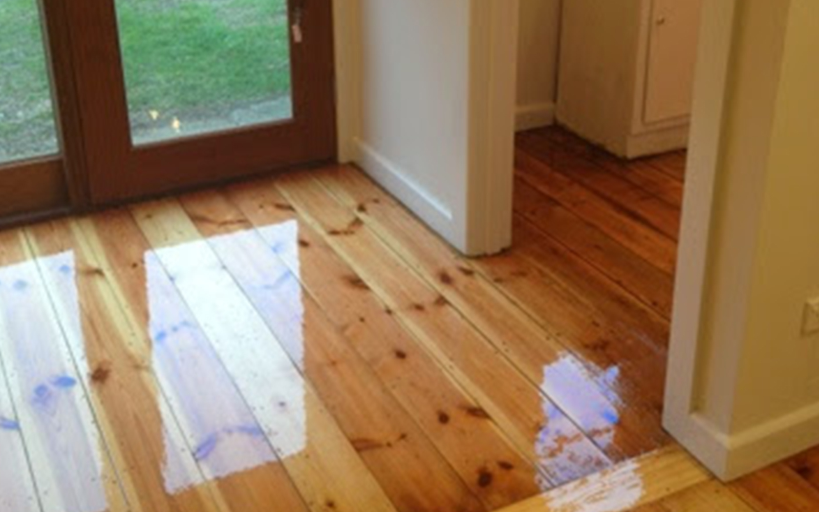 Removing Floor Covering And Polishing