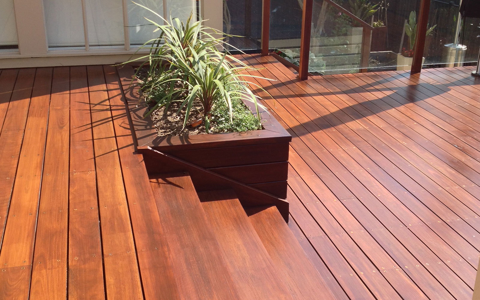 Sanding And Finishing Outdoor Deck